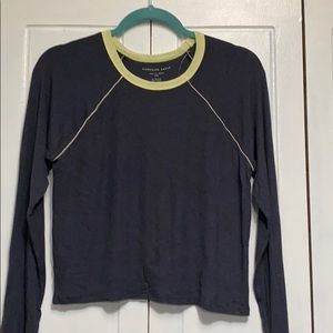 NWT American Eagle soft & sexy ribbed cropped XL